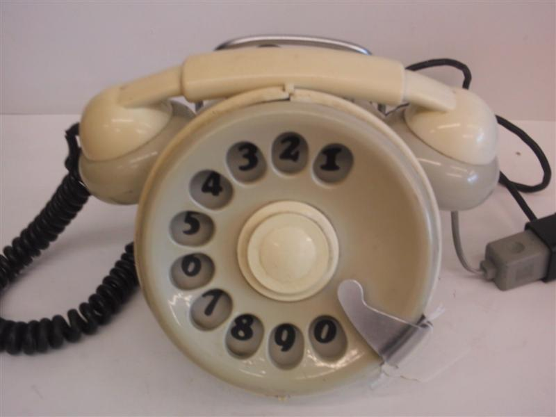 Italian Bobo telephone Grey and White
