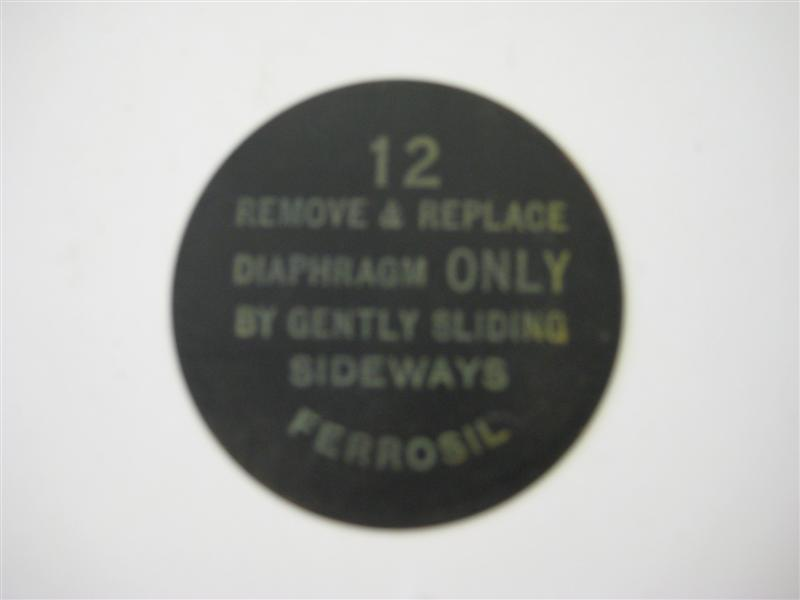Diaphragms for receivers