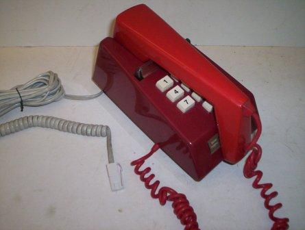 Red Trim Phone