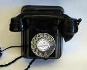 1950s Siemens Wall Phone