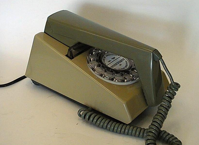 Rotary dial Trimphone Green