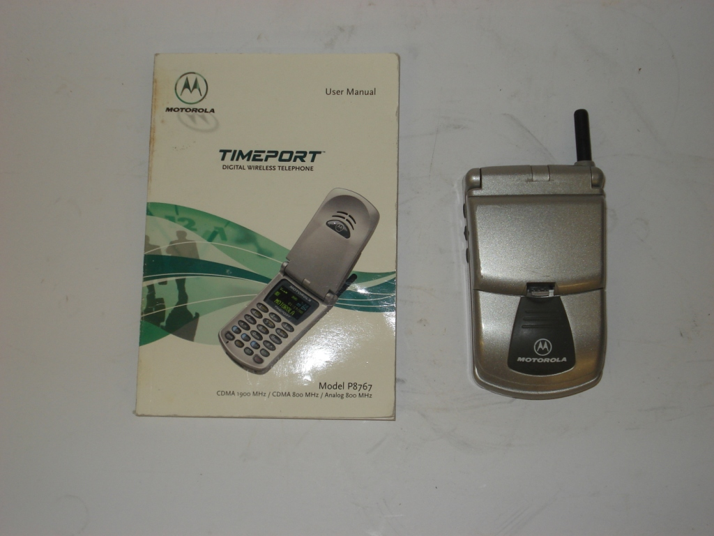 Motorola Timeport CDMA mobile phone