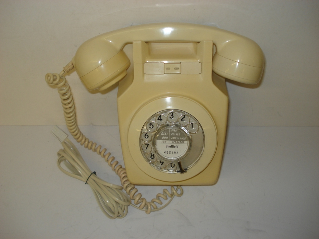 1960s Wall Telephonein plastic,various colours.