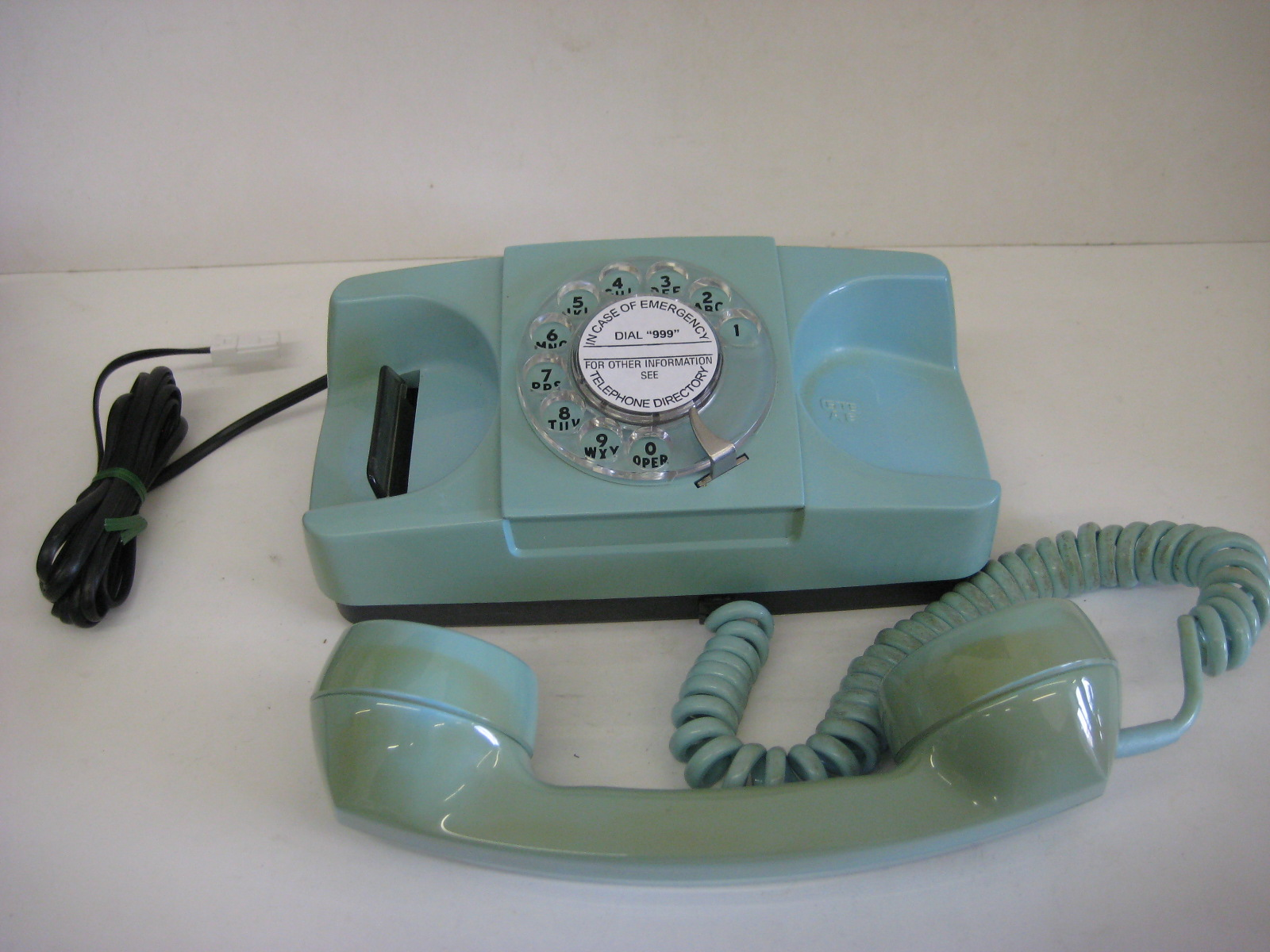 Star light rotary dial telephone