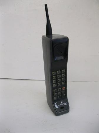 Motorola 8500x portable phone and case
