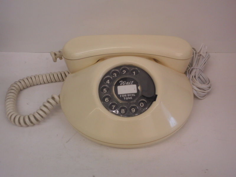 White Dawn telephone.Working Guaranteed.
