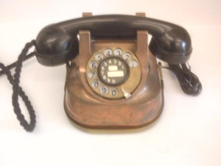 Copper Bell table phone