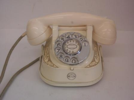 Bell Phone in original white.