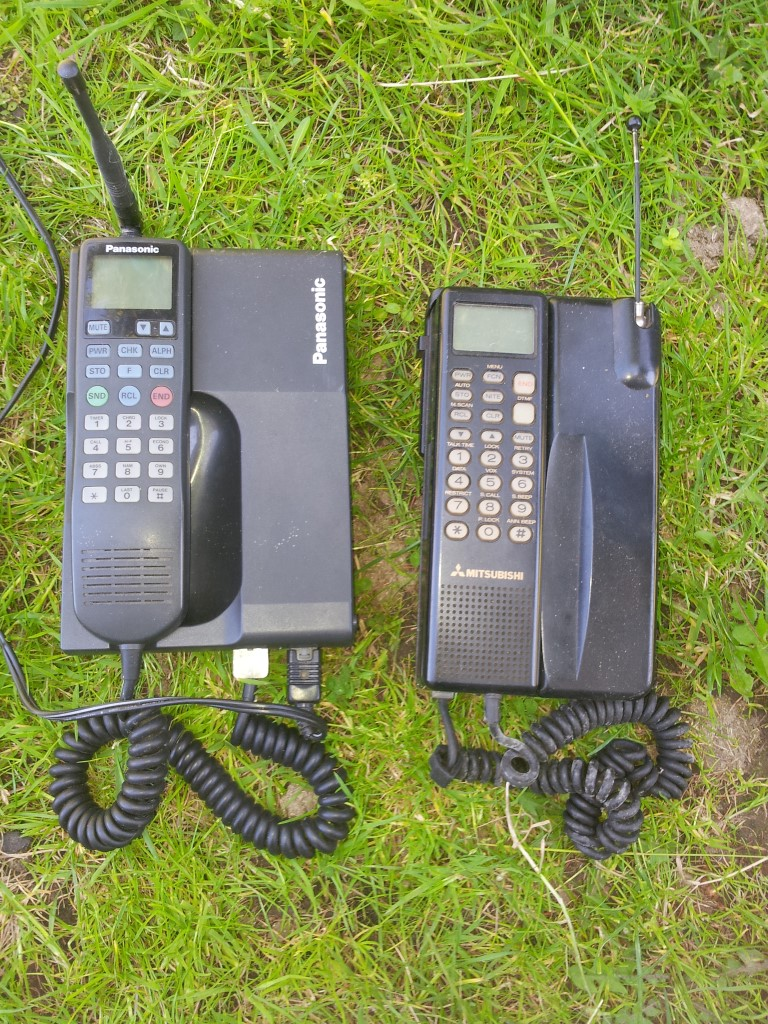 Panasonic Transportable cellular mobile phone